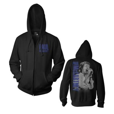Paul Mccartney Sideways Zip Hoodie