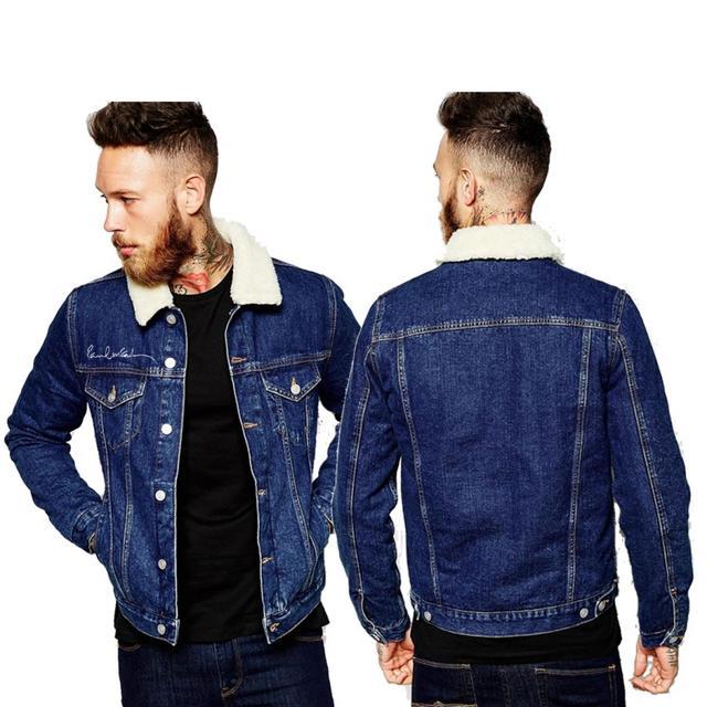Paul Mccartney Vibes Denim Jacket
