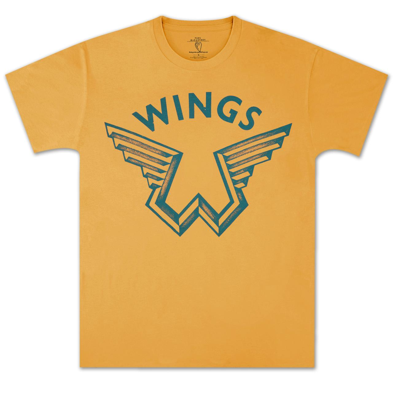 Paul McCartney Wings Logo T Shirt Hover To Zoom