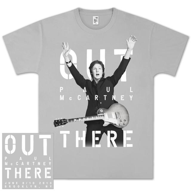 Paul McCartney Out There Brooklyn Event T-Shirt