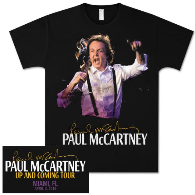 Paul McCartney Up and Coming Event T-Shirt - Miami