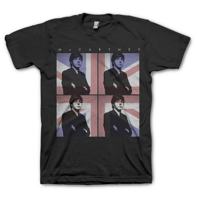 Paul McCartney Four Square Flag T-Shirt