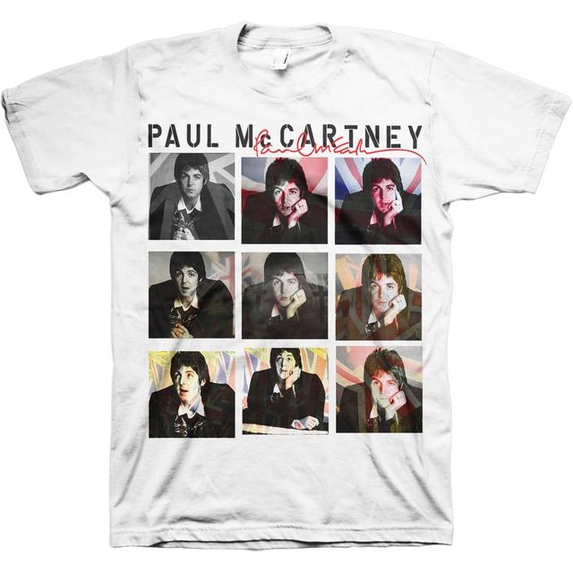 Paul McCartney Nine Jacks Photo Tour T-Shirt