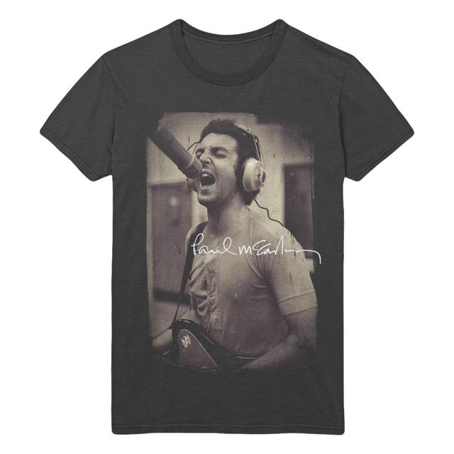 Paul McCartney Studio Black T-Shirt