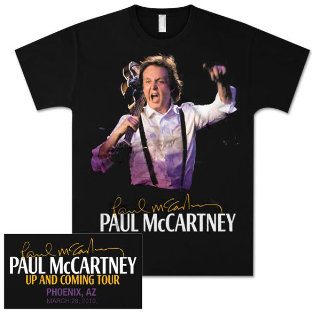 Paul McCartney Up and Coming Event T-Shirt - Phoenix