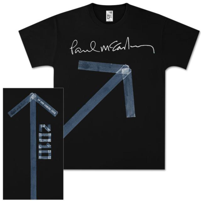 Paul McCartney Tape Up Black T-Shirt