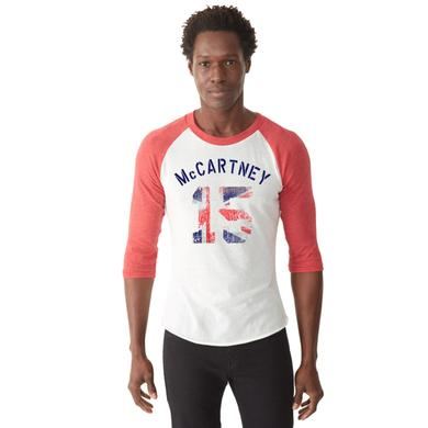 Paul McCartney Union Fill Raglan