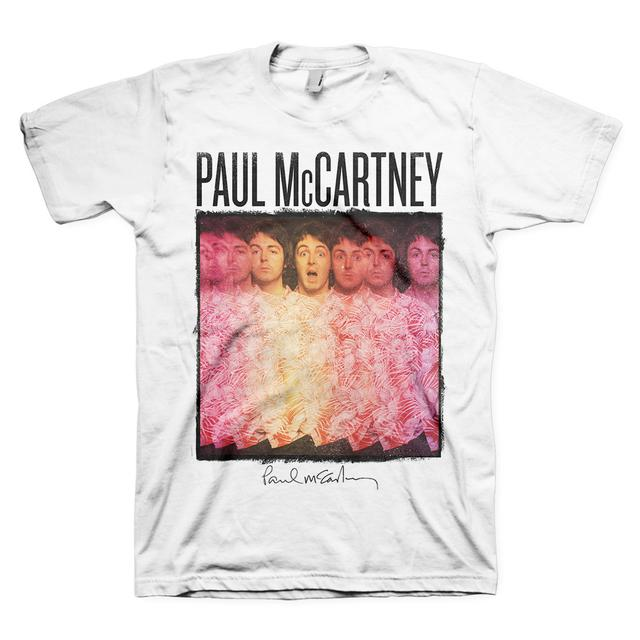 Paul McCartney Multiple Exposures Tee
