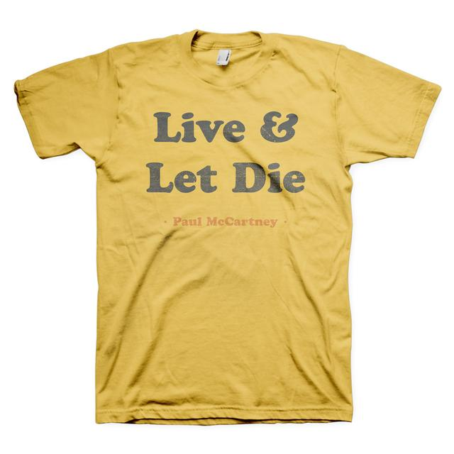 Paul McCartney Live & Let Die Tee