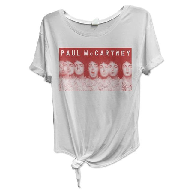 Paul McCartney Many Faces of Paul Knot Tee