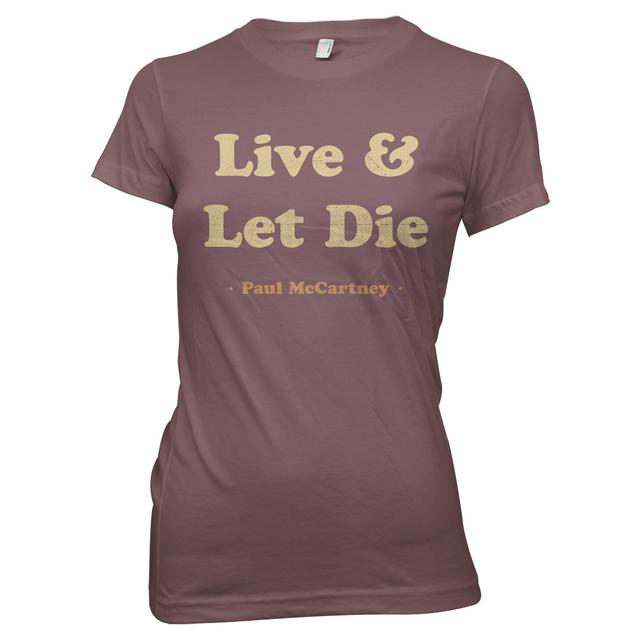 Paul McCartney Live & Let Die Junior T-Shirt