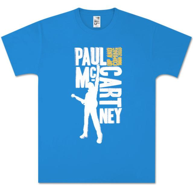 Paul McCartney Type Blocks Blue T-Shirt