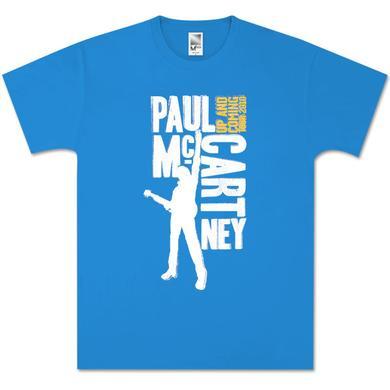 Paul McCartney Type Blocks Blue T-Shirt