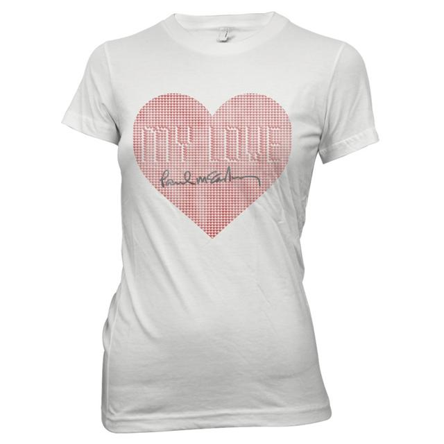 Paul Mccartney My Love Girls Tee