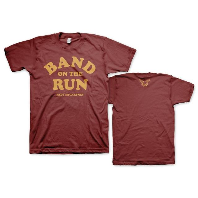 Paul Mccartney Band On The Run Type Tee