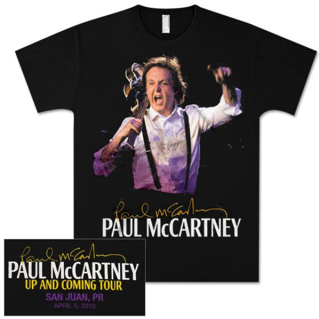 Paul McCartney Up and Coming Event T-Shirt - San Juan