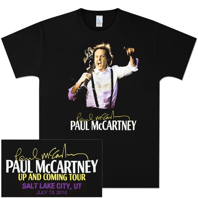 Paul McCartney Up and Coming Event T-Shirt - Salt Lake City