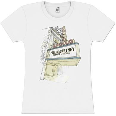Paul McCartney Marquee Sketch Girlie T-Shirt