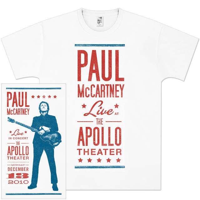 Paul McCartney Classic Showbill T-Shirt