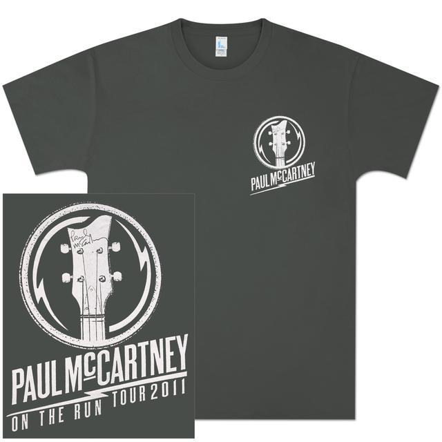 Paul McCartney Headstock T-Shirt