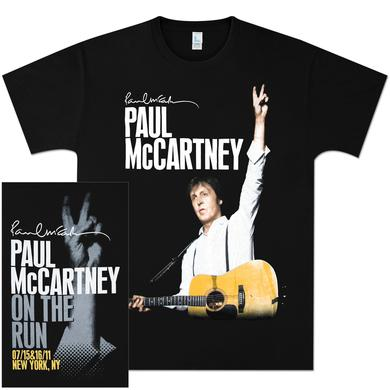 Paul McCartney On The Run NYC Event T-Shirt