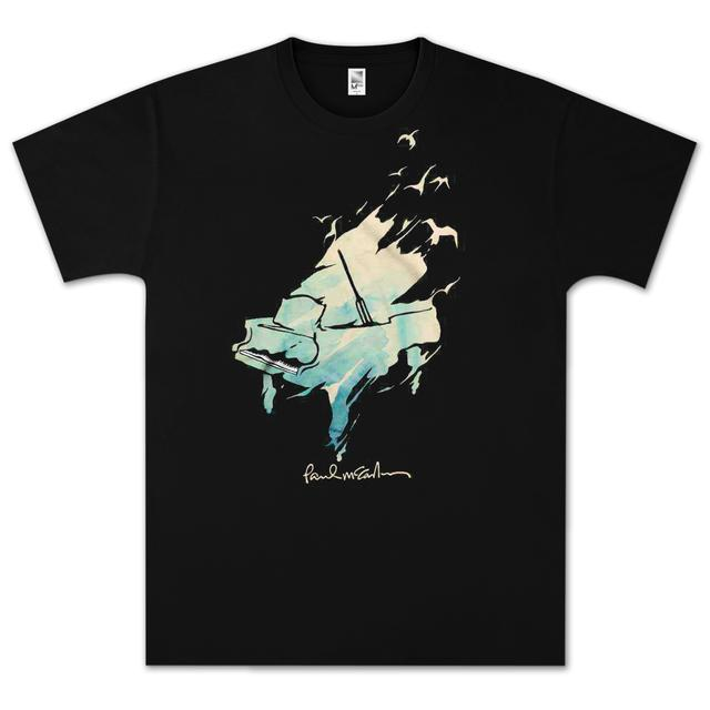 Paul McCartney Watercolor Piano T-Shirt