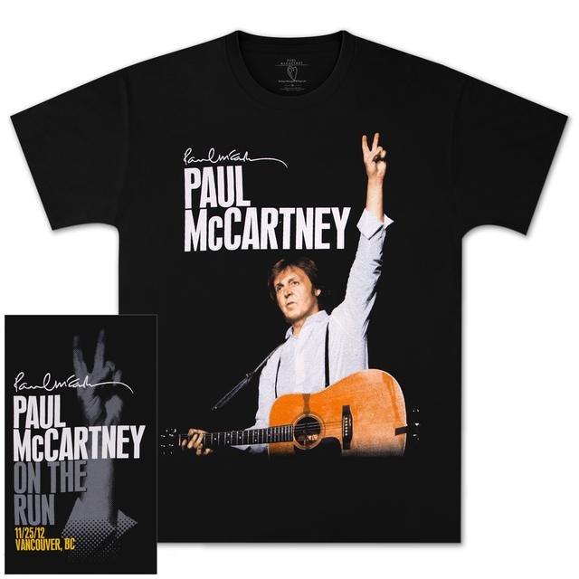 Paul McCartney OTR Vancouver Event T-Shirt