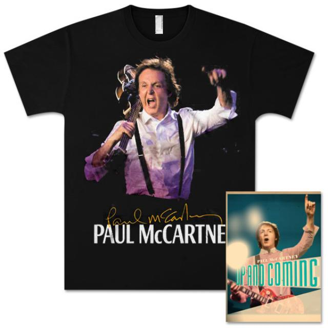 Paul McCartney Up and Coming Los Angeles Event T-Shirt and Tour Programme Bundle