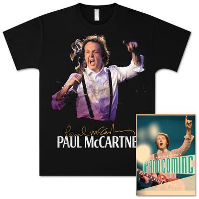 Paul McCartney Up and Coming San Juan Event T-Shirt and Tour Programme Bundle