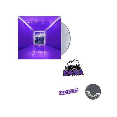 Fall Out Boy Best Deal CD Bundle w/ Pins