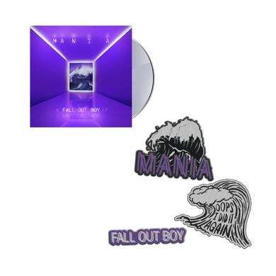 Fall Out Boy Best Deal CD Bundle w/ Patches