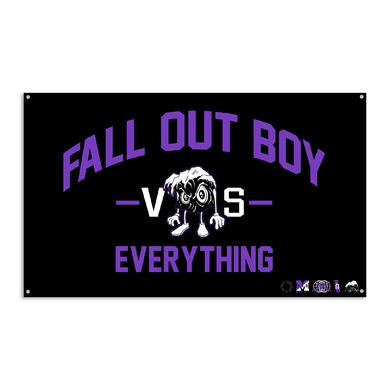 Fall Out Boy FOB vs. Everything Wall Flag