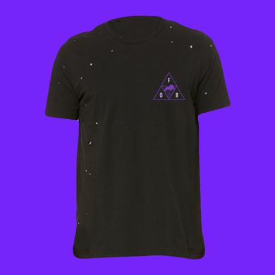 Fall Out Boy Triangle Wave Destroyed Tee