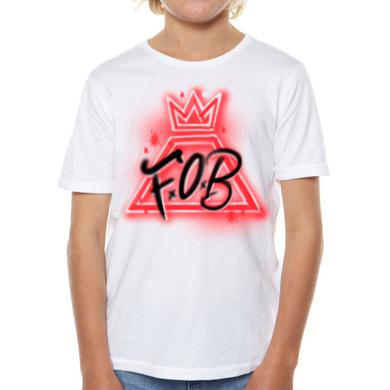 Fall Out Boy Kids Airbrush Tee