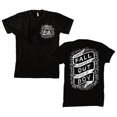 Fall Out Boy Scroll Tee