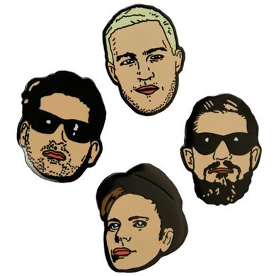 Fall Out Boy Lapel Pin Set
