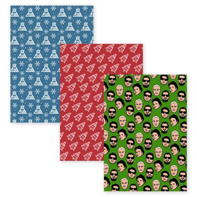 Fall Out Boy Holiday Wrapping Paper