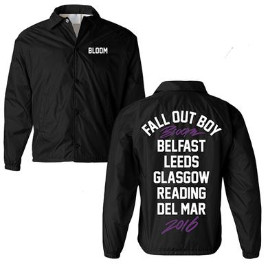 Fall Out Boy Bloom Coach Jacket