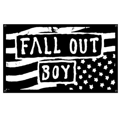 Fall Out Boy Inverse Flag Wall Flag