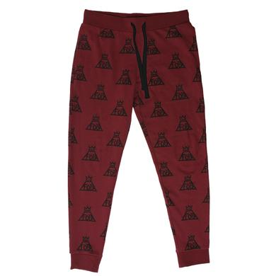 Fall Out Boy Maroon Joggers