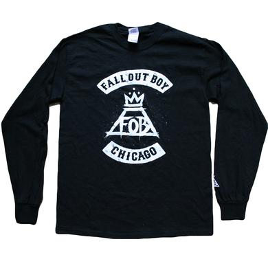 Fall Out Boy Chicago Longsleeve Tee