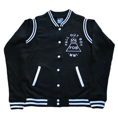 Fall Out Boy Fleece Letterman Jacket