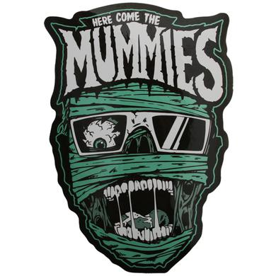 Here Come the Mummies Face Sticker
