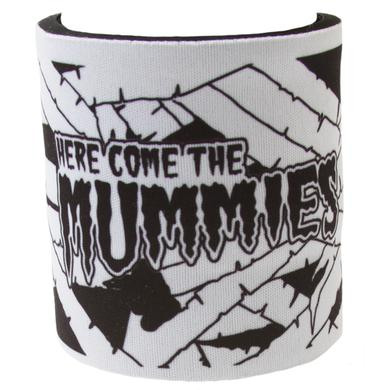 Here Come the Mummies White Slap Koozie