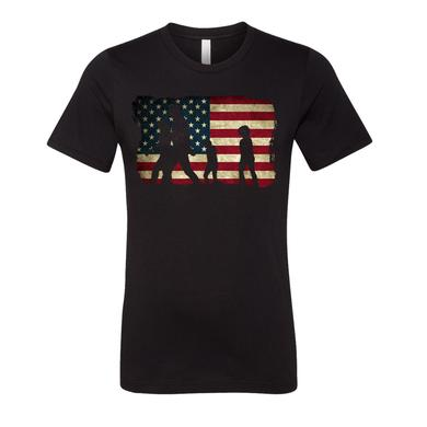 Little Big Town Flag Tee