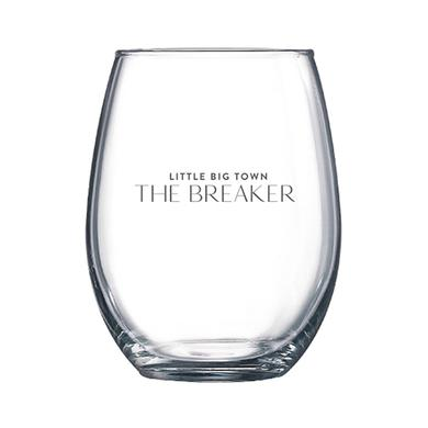 Little Big Town The Breaker Stemless Wine Glass