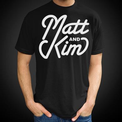Matt & Kim Script Tee