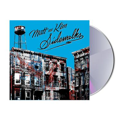 Matt & Kim Sidewalks CD