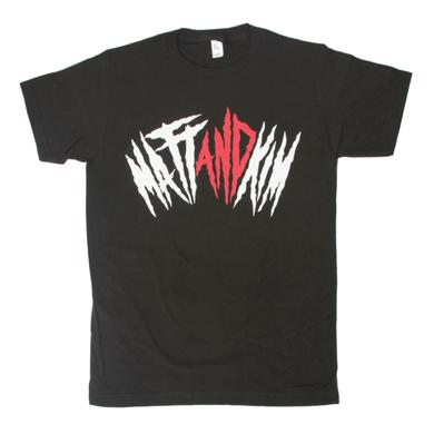 Matt & Kim Black Jagged Tee
