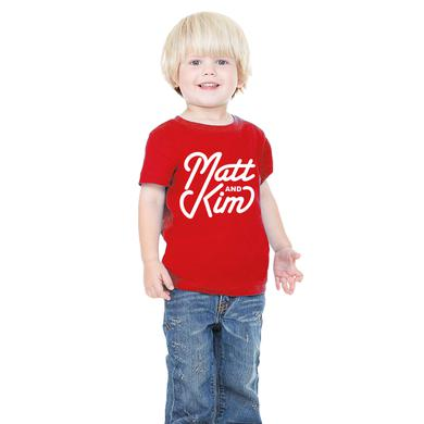 Matt & Kim Script Toddler Tee